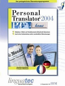 Linguatec: Personal Translator 2004 Home Deutsch/Französisch (PC)