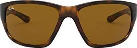 Ray-Ban RB4300 63mm tortoise/brown classic (RB4300-710/33)