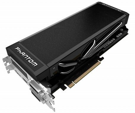 Gainward GeForce GTX 680 phantom, 2GB GDDR5, 2x DVI, HDMI, DisplayPort (2517)