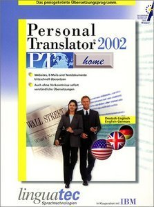 Linguatec: Personal Translator 2002 Home Deutsch/Englisch (PC)