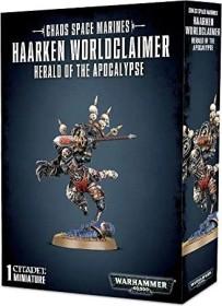 Games Workshop Warhammer 40.000 - Chaos Space Marines - Haarken Worldclaimer Herold der Apokalypse (99120102088)