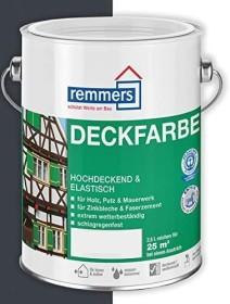 Remmers Deckfarbe Holzschutzmittel anthrazitgrau, 750ml (3624-01)