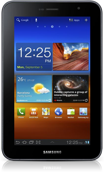 Samsung Galaxy Tab 7.0 Plus P6200 16GB grey (GT-P6200MAA)
