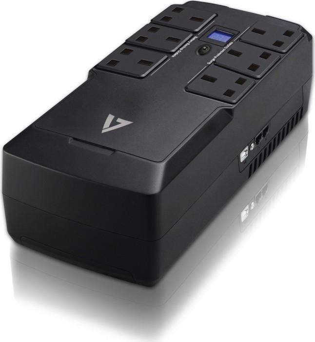 V7 V7 UPS 750VA desktop UK, USB (UPS1DT750-1K)