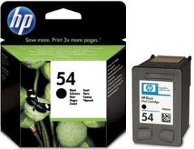 HP Printhead with ink 54 black (CB334AE)