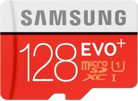 Samsung R80/W20 microSDXC EVO+ 128GB Kit, UHS-I, Class 10 (MB-MC128DA/EU)