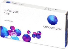 Cooper Vision Biofinity XR toric, -0.50 Dioptrien, 3er-Pack