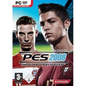 Pro Evolution Soccer 2008 (English) (PC)