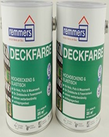 Remmers Deckfarbe Holzschutzmittel anthrazitgrau, 2.5l (3624-03)