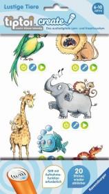Ravensburger tiptoi Create Sticker Lustige Tiere (55481/00908)