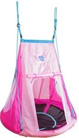 Hudora Alu nest swing with tent Heart 110 (72153)