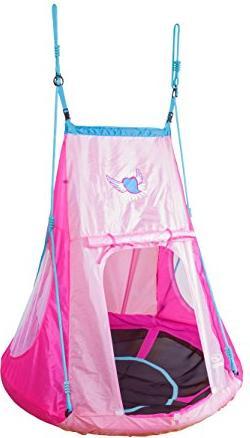 Hudora aluminum nest swing with tent Heart 110 (72153)