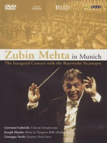 Zubin Mehta - In Munich: The Inaugural Concert