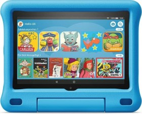 Amazon Fire HD 8 KFONWI 2020, ohne Werbung, 32GB, Black, Kids Edition Blau (53-023277 / 53-023260)