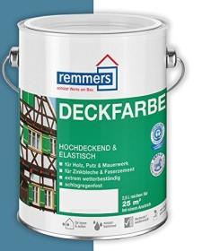 Remmers Deckfarbe Holzschutzmittel friesenblau, 2.5l (3604-03)