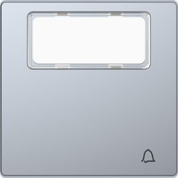 Merten System Design Wippe, edelstahl (MEG3365-6036)