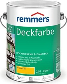 Remmers Deckfarbe Holzschutzmittel goldgelb, 2.5l (3614-03)