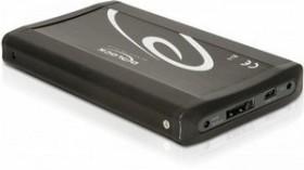 DeLOCK 42465 schwarz, USB-A 2.0/eSATAp