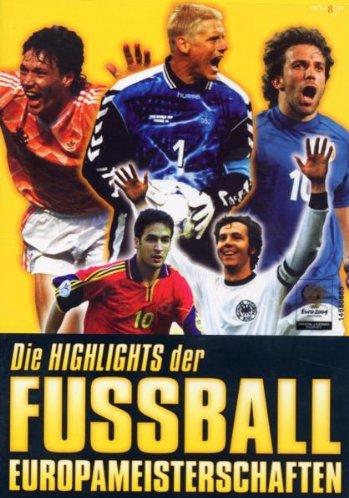 Die Highlights der Fußball Europameisterschaften -- via Amazon Partnerprogramm