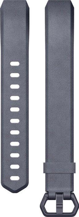 Fitbit Ersatzarmband Leder Large für Alta HR/Alta blau (FB163LBNVL)