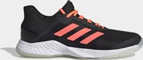 adidas adizero Club core black/signal coral/cloud white (Herren) (EF2771)