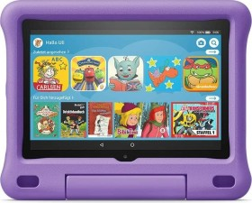 Amazon Fire HD 8 KFONWI 2020, ohne Werbung, 32GB, Black, Kids Edition Violett (53-023242 / 53-023266)