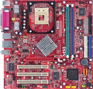 MSI 865GM3-LS, i865GM (dual PC-3200 DDR) (MS-7037-010)