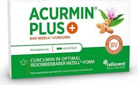 Cellavent Acurmin PLUS - Das Mizell-Curcuma Kapseln, 60 Stück