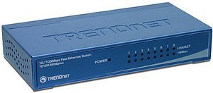 TRENDnet TE100-S88Eplus, 8-port