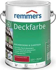 Remmers Deckfarbe Holzschutzmittel schwedischrot, 2.5l (3611-03)