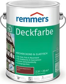 Remmers Deckfarbe Holzschutzmittel skandinavisch rot, 2.5l (3623-03)