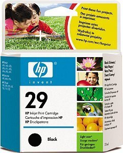 HP Nr 29 Printhead with Ink black 20ml (51629GE)