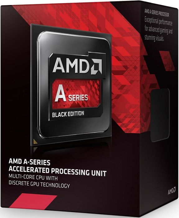 AMD  A6-7400K Black Edition, 2x 3.50GHz, boxed (AD740KYBJABOX)