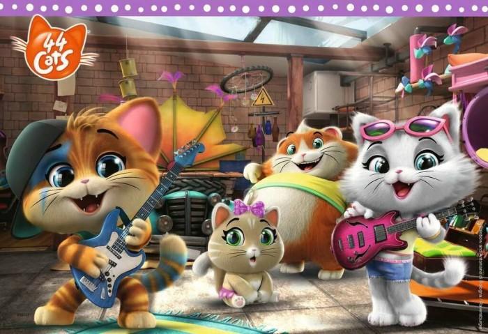 Ravensburger Puzzle 44 Cats Die Buffycats machen Musik (05012)