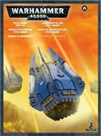 Games Workshop Warhammer 40.000 - Space Marines - Landungskapsel (99120101228)