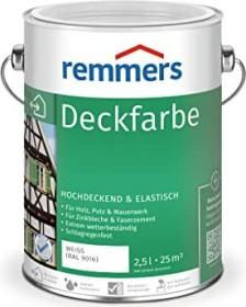 Remmers Deckfarbe Holzschutzmittel weiß, 2.5l (3600-03)