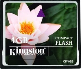 Kingston CompactFlash Card [CF] 4GB