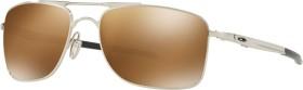 Oakley Gauge 8 polished chrome/prizm tungsten polarized (OO4124-09)