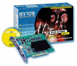 Elsa Gladiac 511PCI, GeForce2 MX/400, 32MB, Dual wyświetlacz, TV-out, PCI, retail (60245)