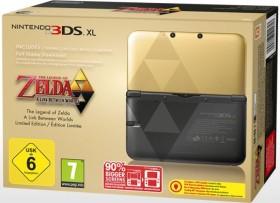 Nintendo 3DS XL The Legend of Zelda: A Link Between Worlds Limited Edition Bundle gold