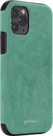 Stilgut Alcantara Cover für Apple iPhone 11 Pro grün (B08292LGTQ)