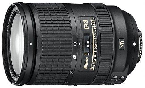 Nikon AF-S DX 18-300mm 3.5-5.6G ED VR black (JAA812DA)