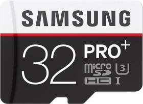 Samsung PRO+ R95/W90 microSDHC 32GB Kit, UHS-I U3, Class 10 (MB-MD32DA/EU)
