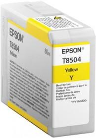 Epson Tinte T8504 Ultrachrome HD gelb (C13T850400)