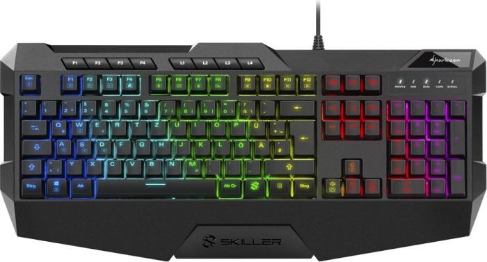 Sharkoon Skiller SGK4, LEDs RGB, USB, DE
