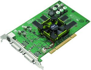 PNY Quadro FX 600, 256MB DDR, DVI, TV-out, PCI (VCQFX600-PCI-PB)