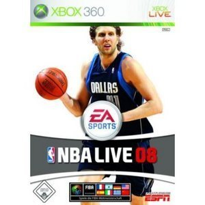 EA sports NBA Live 08 (English) (Xbox 360)