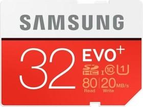 Samsung EVO+ R80/W20 SDHC 32GB, UHS-I, Class 10 (MB-SC32D/EU)