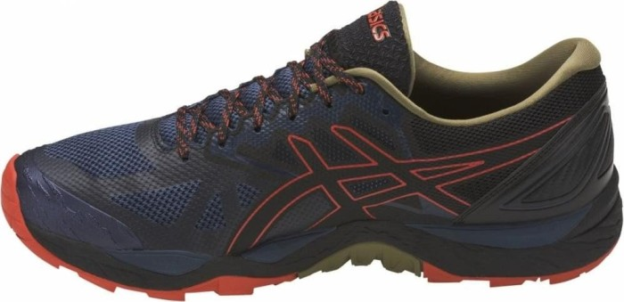 meet 28f0a 36b23 Asics gel-Fujitrabuco 6 insignia blue black red clay (men) (