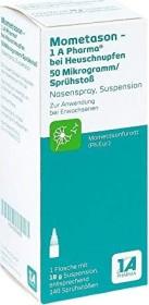 1A Pharma Mometason bei Heuschnupfen Nasenspray, 18g